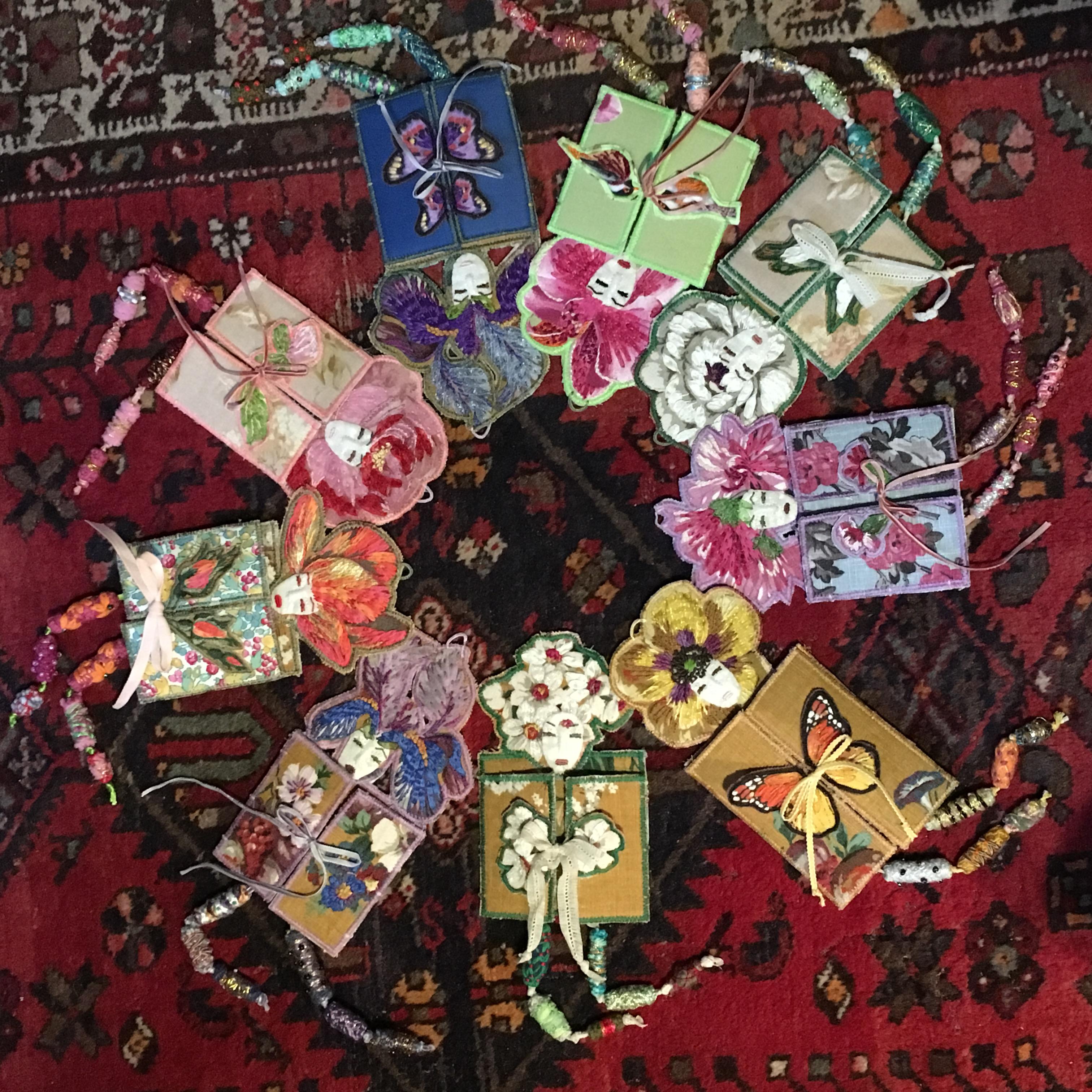 Stage F Es Des Fleurs En Aveyron Journal Textile