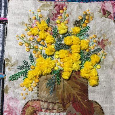 Le bouquet de mimosas