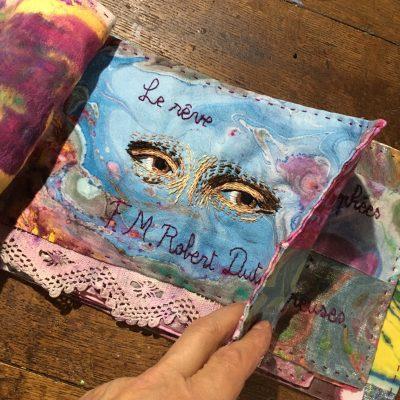 Le Rêve , poème textile
