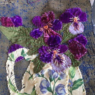 Bouquet de tissus