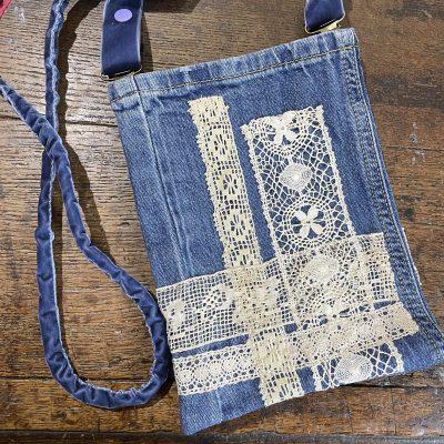 Petits sacs en jean